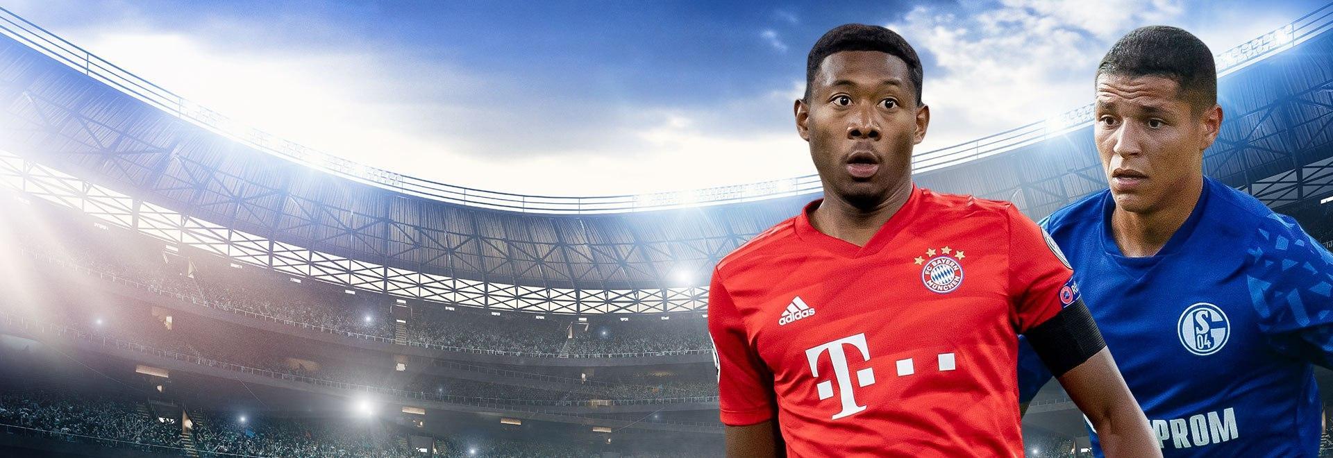 Bayern M. - Schalke. 19a g.