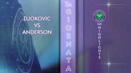 Djokovic - Anderson. 3a g.