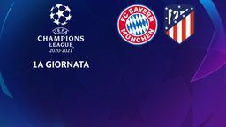 Bayern Monaco - Atletico Madrid. 1a g.