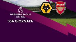 Wolverhampton - Arsenal. 33a g.