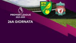 Norwich City - Liverpool. 26a g.