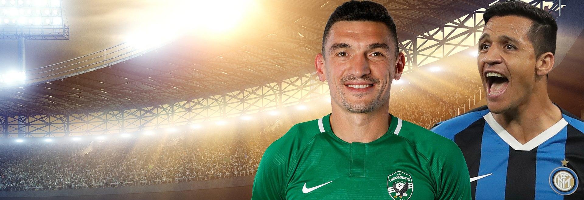 Ludogorets - Inter. Sedicesimi Andata