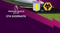 Aston Villa - Wolverhampton. 27a g.