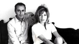 Monica Vitti e Michelangelo Antonioni