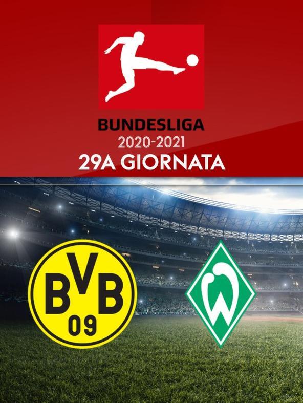 Borussia Dortmund - Werder Brema. 29a g.