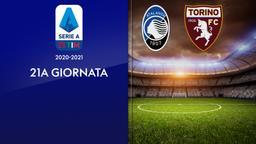 Atalanta - Torino. 21a g.