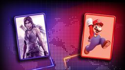 Lara Croft vs Super Mario