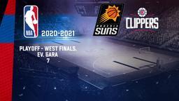 Phoenix - LA Clippers. Playoff - West Finals. Ev. Gara 7