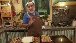 Crepes di zucca / Risotto al parmigiano