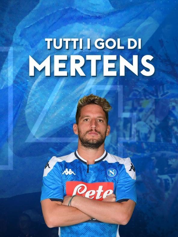 Tutti i gol di Mertens
