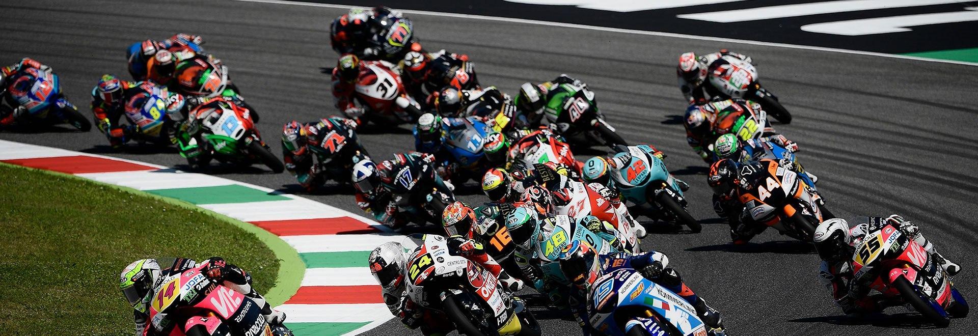 PreMoto3 Vallelunga. Race 1