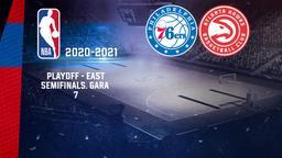 Philadelphia - Atlanta. Playoff - East Semifinals. Gara 7