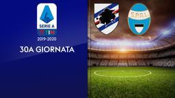 Sampdoria - Spal. 30a g.