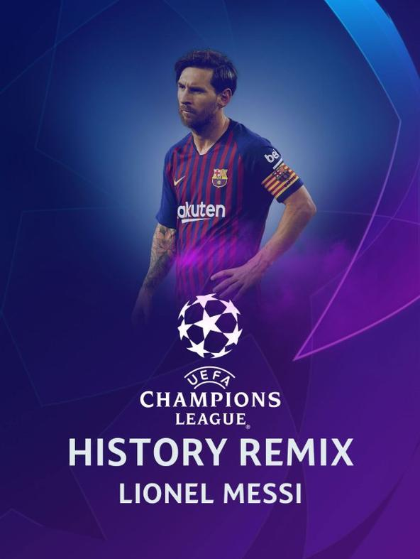 History Remix Lionel Messi