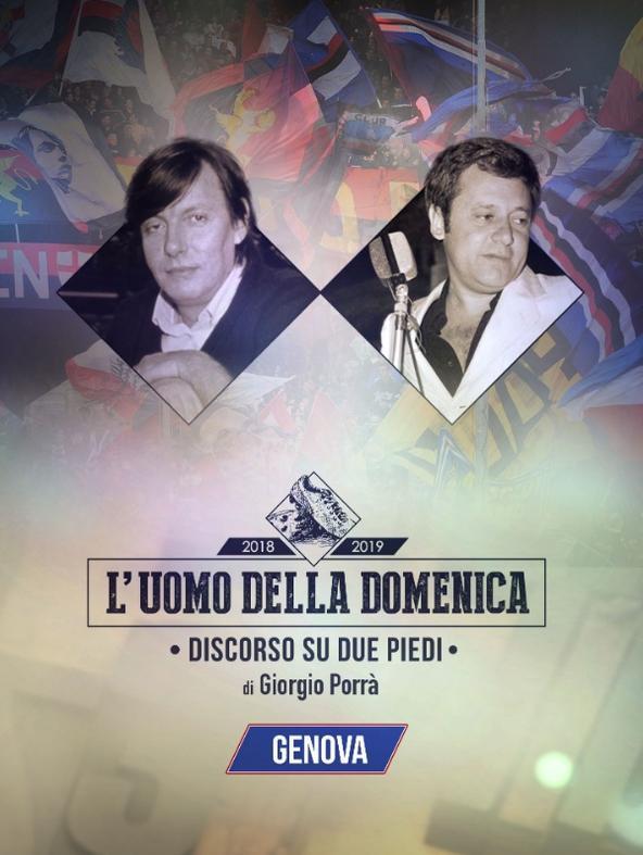 L'uomo della Domenica: Genova