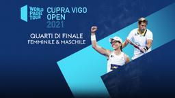Cupra Vigo Open: Quarti F/M