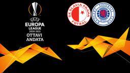 Slavia Praga - Rangers. Ottavi Andata