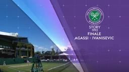 Wimbledon 1992: Agassi - Ivanisevic. Finale
