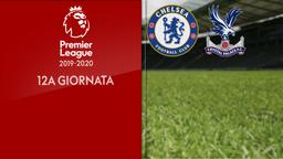 Chelsea - Crystal Palace. 12a g.