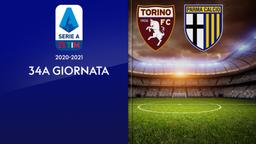 Torino - Parma. 34a g.