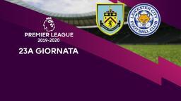 Burnley - Leicester City. 23a g.