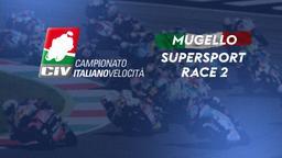 Supersport Mugello. Race 2