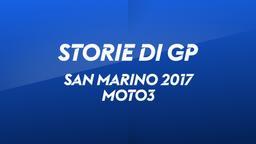 San Marino, Misano 2017. Moto3