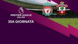 Liverpool - Southampton. 35a g.