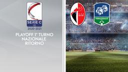 Bari - Feralpisalò. Playoff 1° turno Nazionale Ritorno