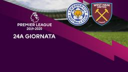 Leicester City - West Ham United. 24a g.