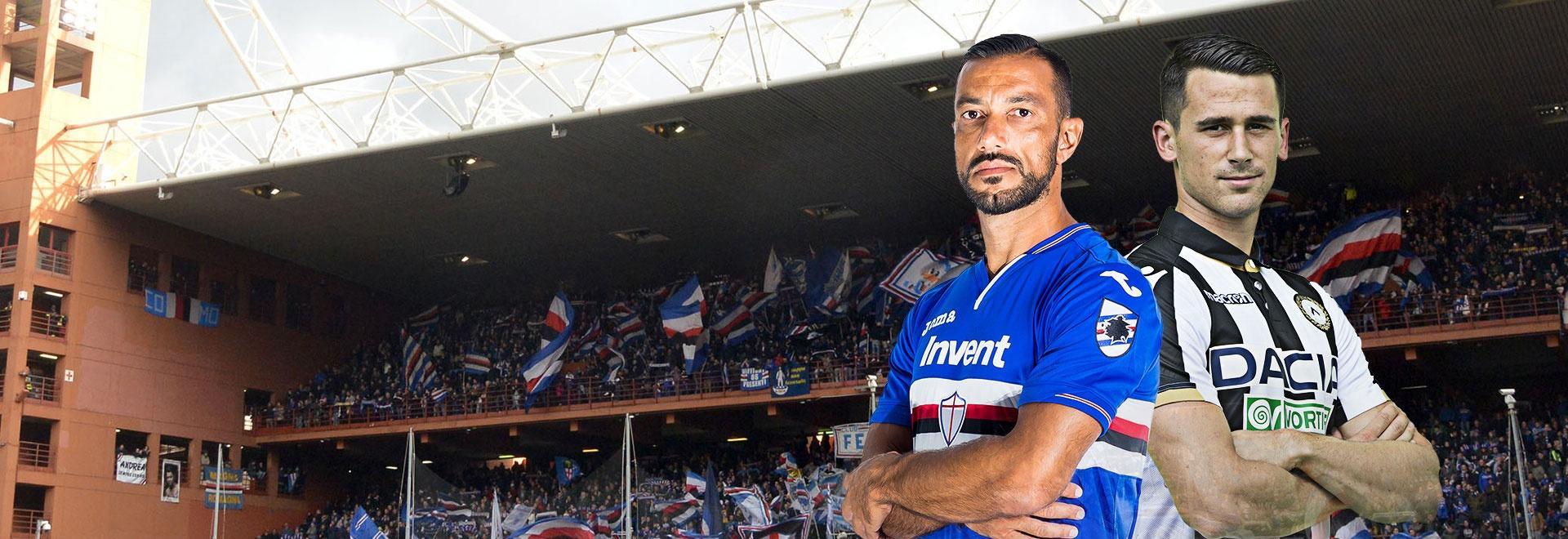Sampdoria - Udinese. 21a g.