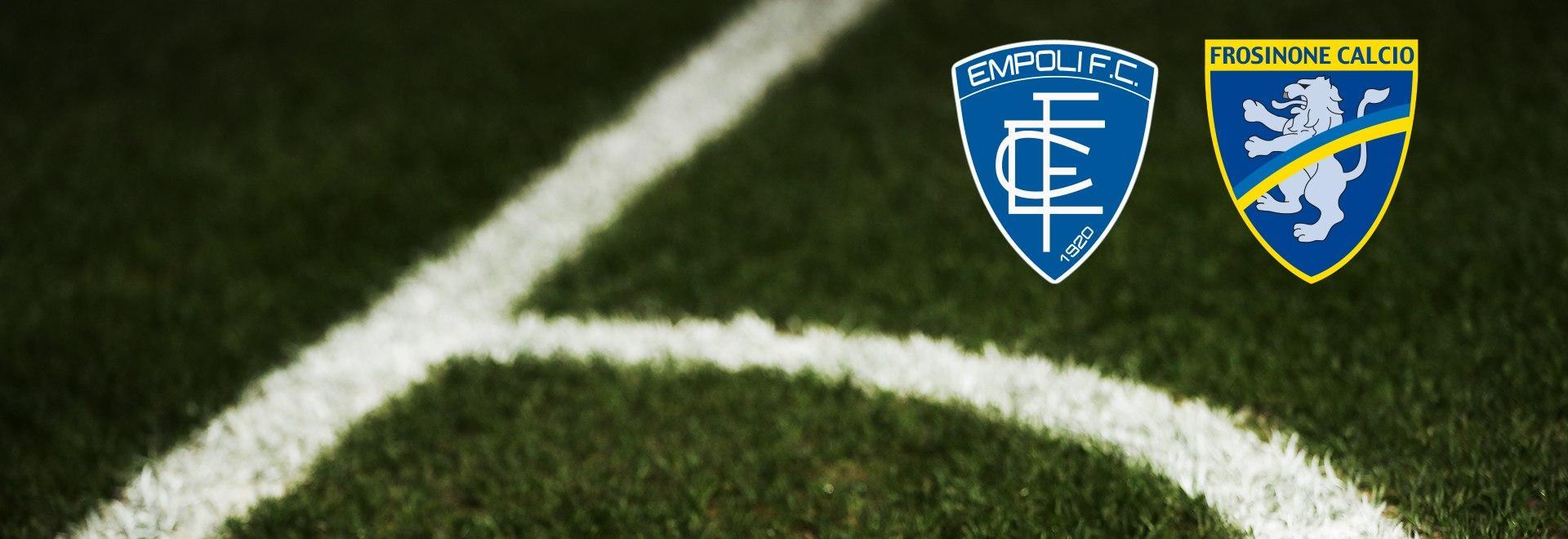 Empoli - Frosinone. 33a g.