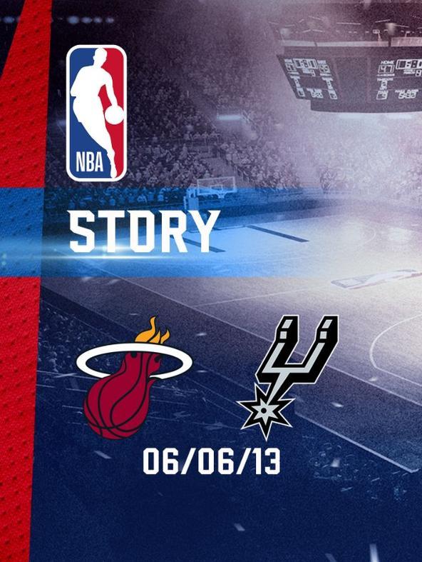 NBA: Miami - San Antonio 06/06/13