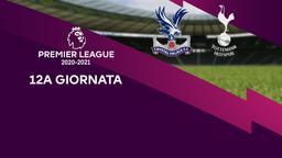 Crystal Palace - Tottenham. 12a g.