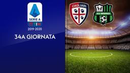 Cagliari - Sassuolo. 34a g.