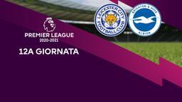 Leicester - Brighton & Hove Albion. 12a g.