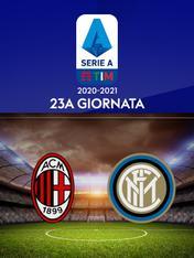Milan - Inter. 23a g.