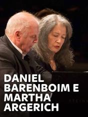 Daniel Barenboim e Martha Argerich
