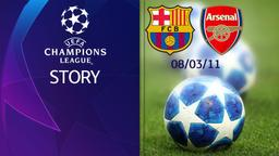 Barcellona - Arsenal 08/03/11