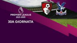 Bournemouth - Crystal Palace. 30a g.
