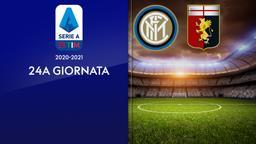 Inter - Genoa. 24a g.