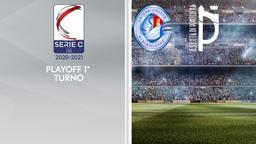 Albinoleffe - Pontedera. Playoff 1° turno