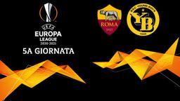 Roma - Young Boys. 5a g.