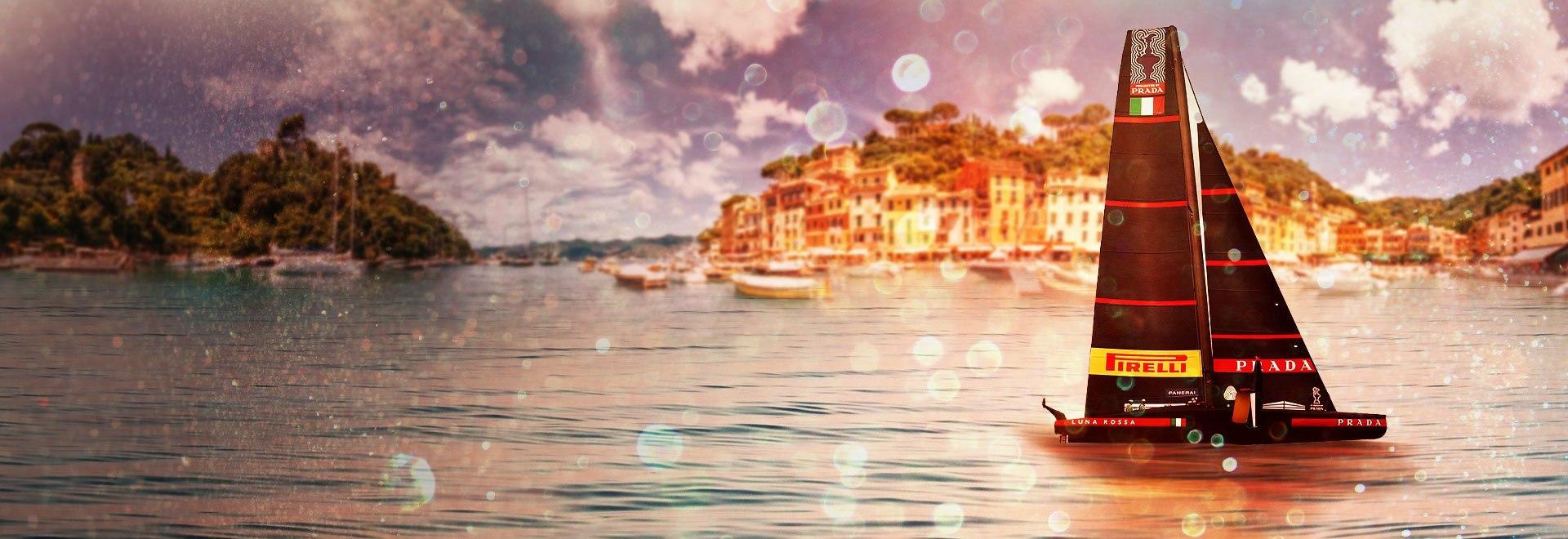 Luna Rossa a Portofino