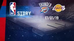 Oklahoma - LA Lakers 17/01/19
