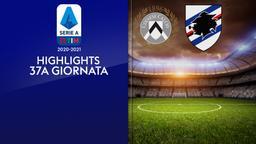 Udinese - Sampdoria. 37a g.