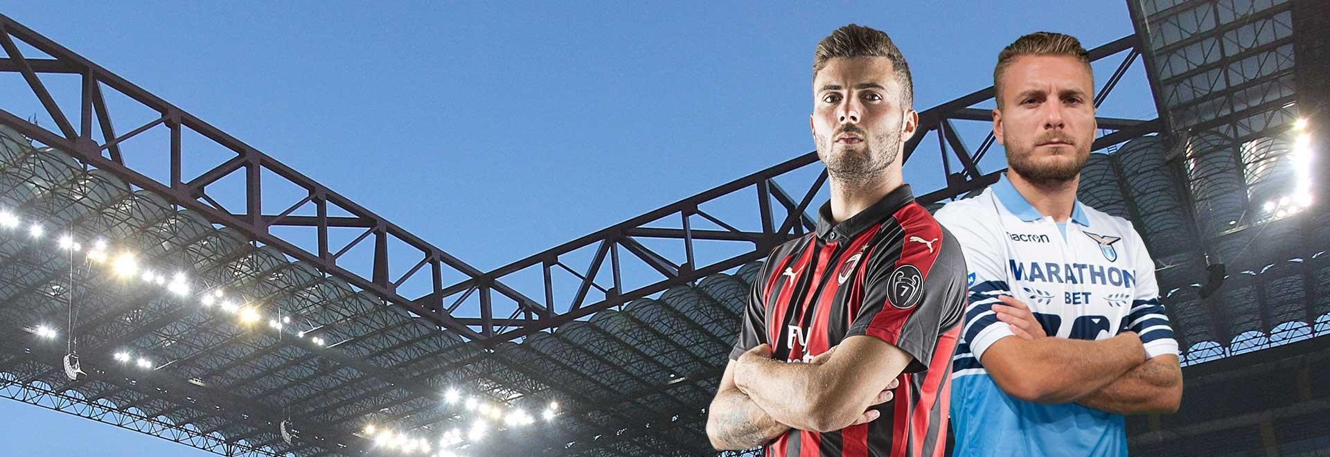 Milan - Lazio. 32a g.
