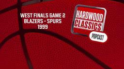 Blazers - Spurs 1999. West Finals Game 2