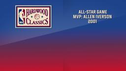 NBA All-Star Game MVP: Allen Iverson 2001