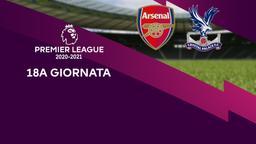 Arsenal - Crystal Palace. 18a g.